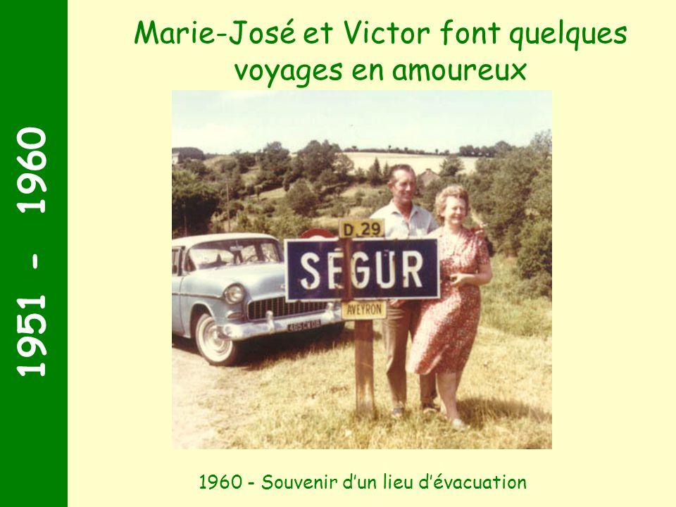 1961 - 1970 Noël 1963, Chez oncle Charles et tante Pigette Un zoom particulier
