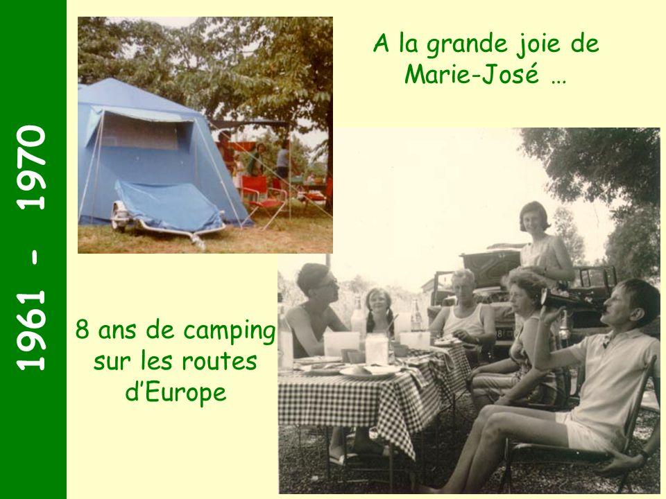 1951 - 1960 1960 - Souvenir dun lieu dévacuation Marie-José et Victor font quelques voyages en amoureux