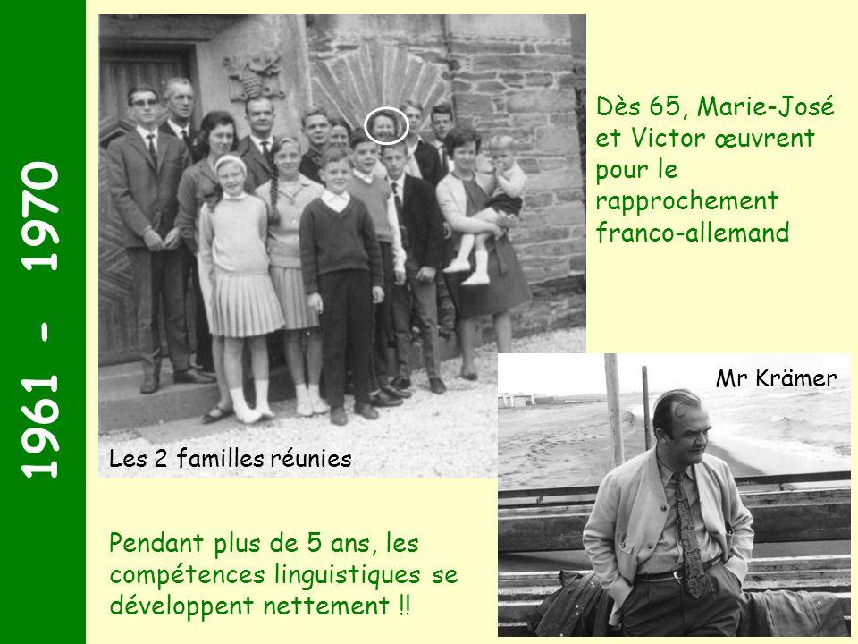 1961 - 1970 Et un voyage plus lointain en Terre Sainte, dans les pas de Grand-Mère 1967 Croisière sur le Rhin