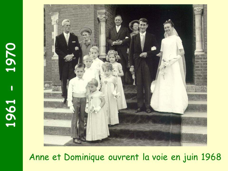 1961 - 1970 Gerzicourt fait peau neuve pour marier ses filles