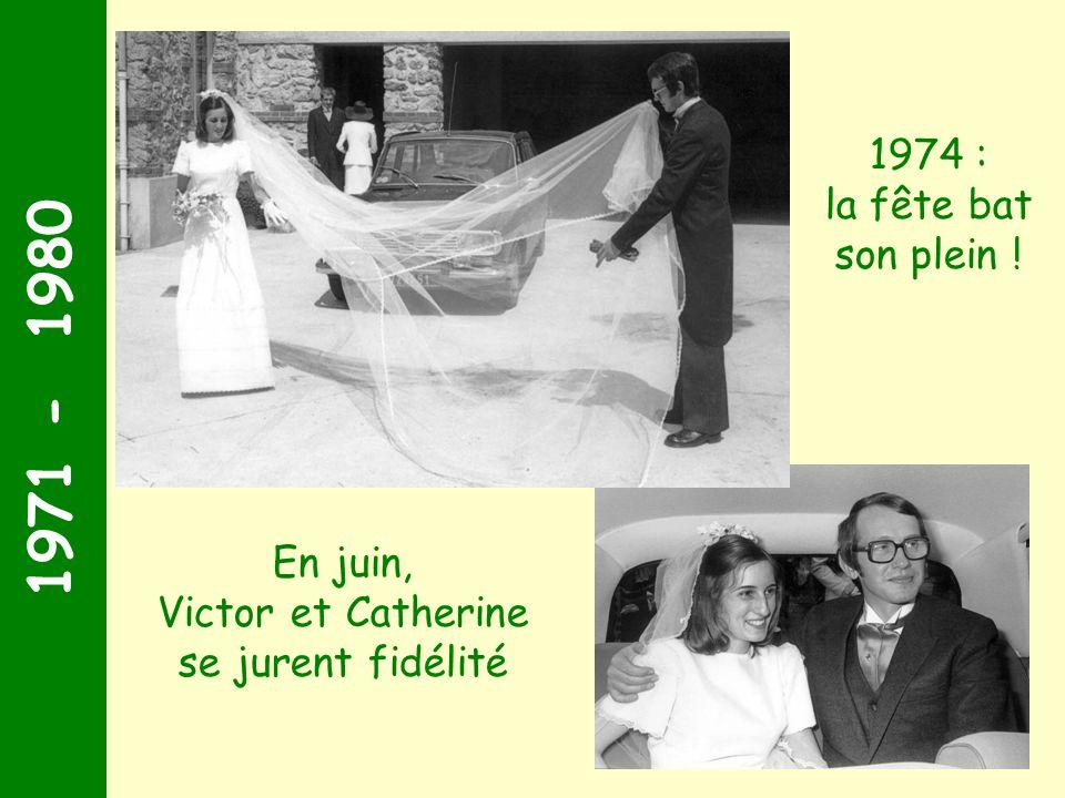 1971 - 1980 A l'âge de 2 ans, Arnaud est détrôné par sa petite cousine Aude Aude Juillet 1971