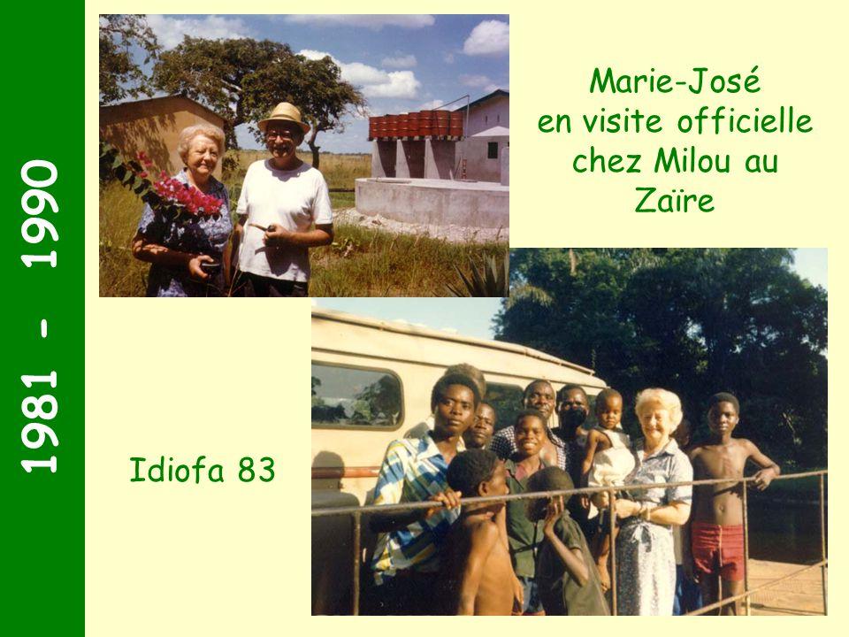 1971 - 1980 Fin des années 70, la décision est prise ! On sinstalle à Le Thour, près de la rivière