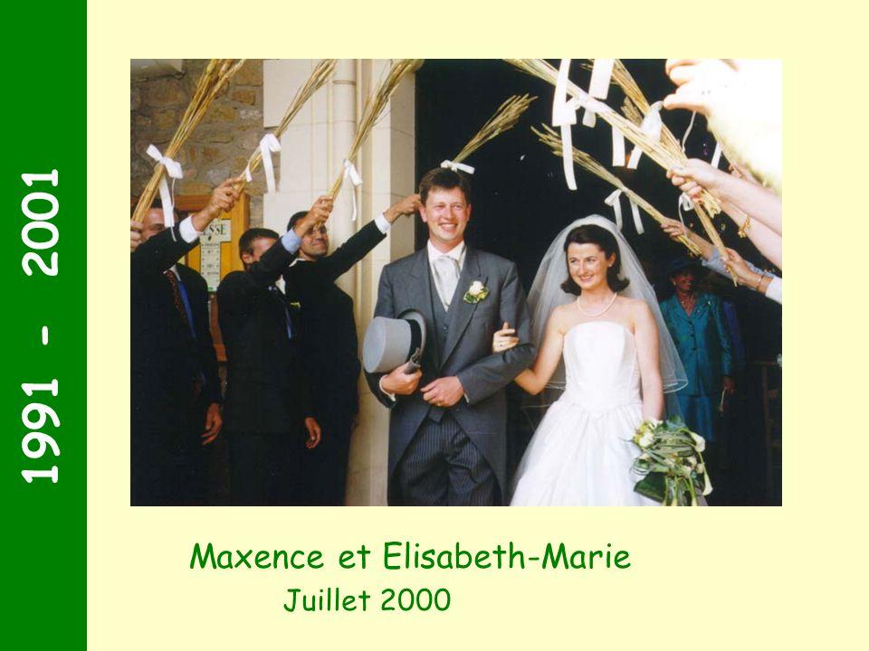 1991 - 2001 Septembre 1999 Suivis de Stéphane et Joséphine