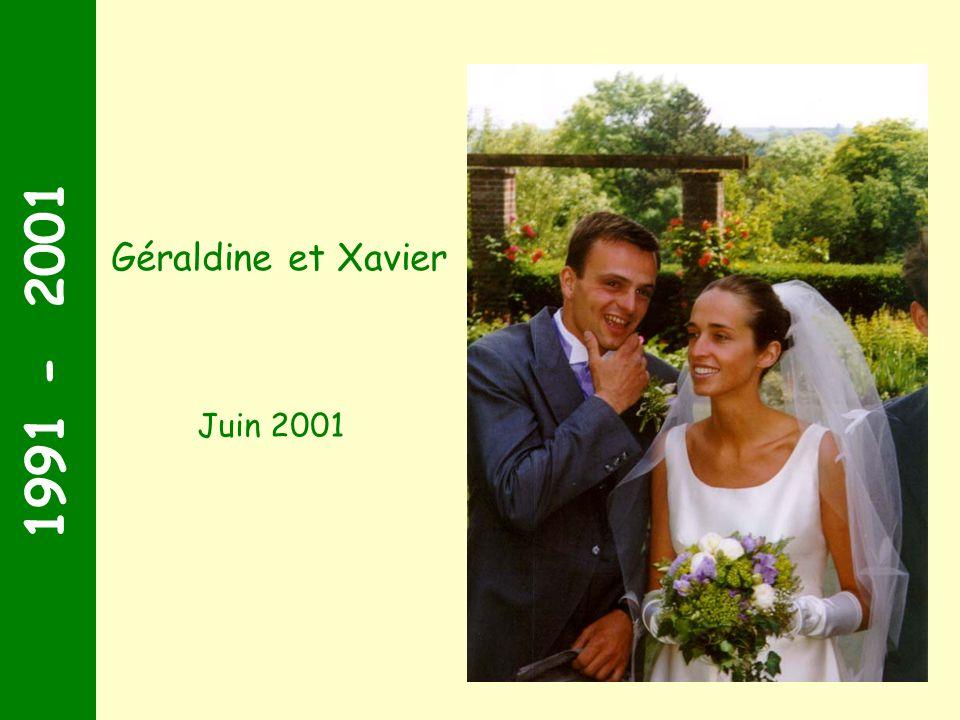 1991 - 2001 Juillet 2000 Maxence et Elisabeth-Marie