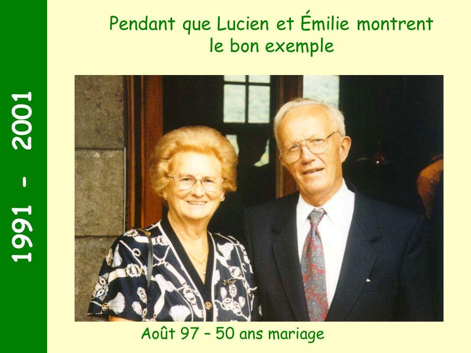 1991 - 2001 Juin 2001 Géraldine et Xavier