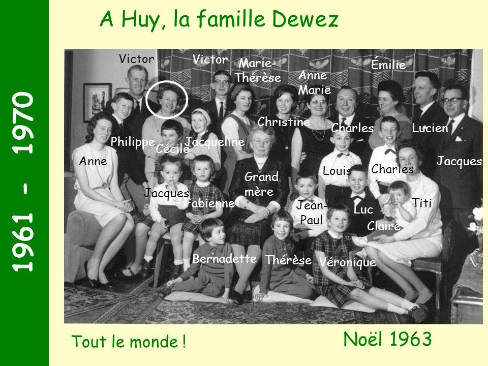 1971 - 1980 A l âge de 2 ans, Arnaud est détrôné par sa petite cousine Aude Aude Juillet 1971
