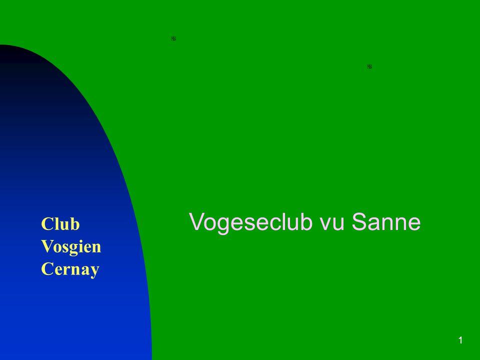 1 Club Vosgien Cernay Vogeseclub vu Sanne