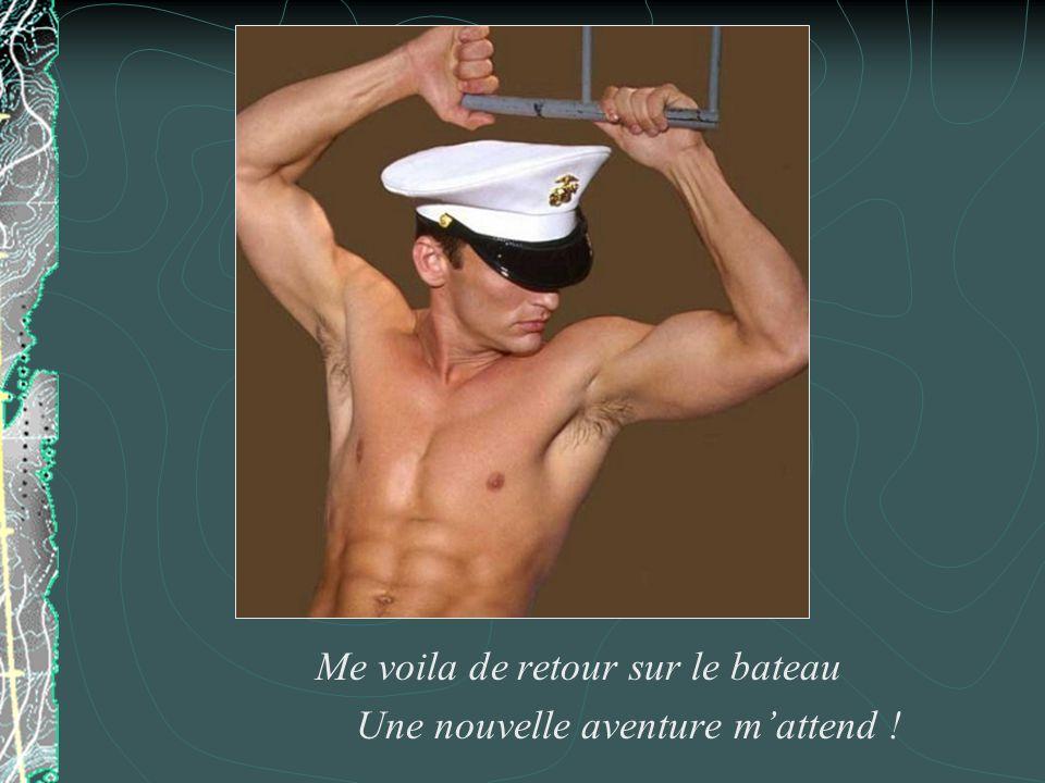 La vie dun matelot nest pas facile. Quelle est longue cette attente… avant le grand départ