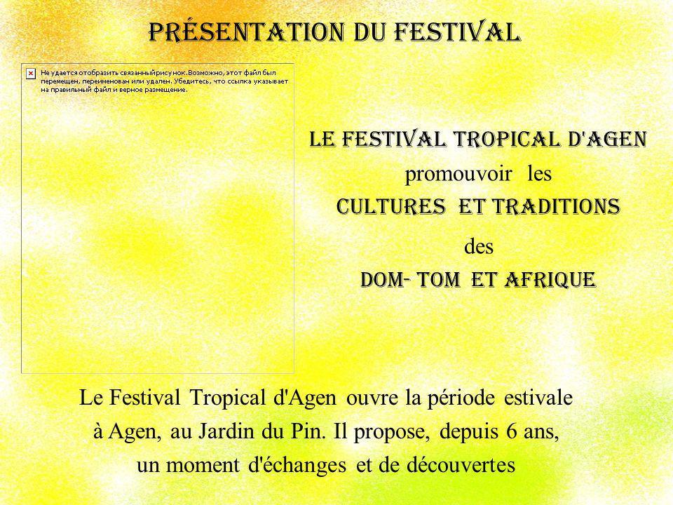 Chorégraphies caribéennes et africaines Les folklores des différents pays et îles y sont représentés