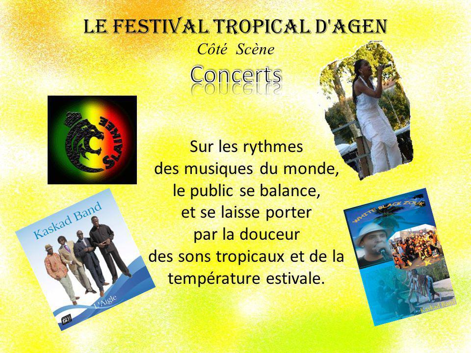 La déambulation dun groupe à pied façon « Antilles aux rythmes carnavalesques.