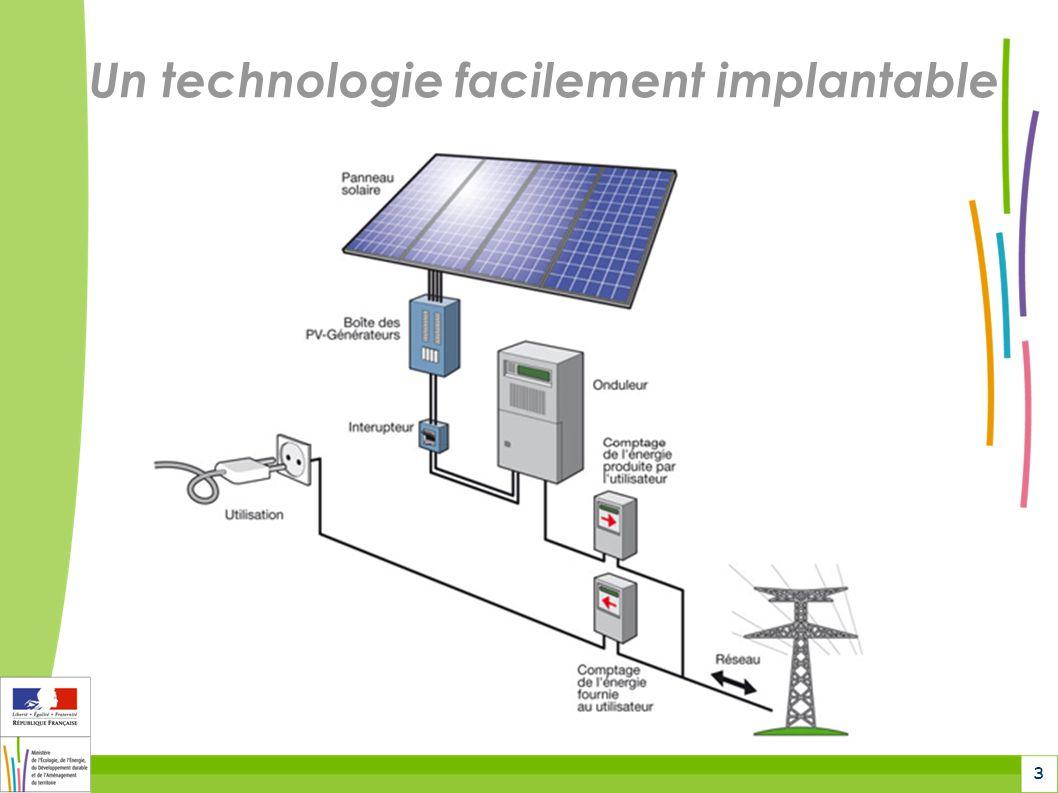 3 Un technologie facilement implantable