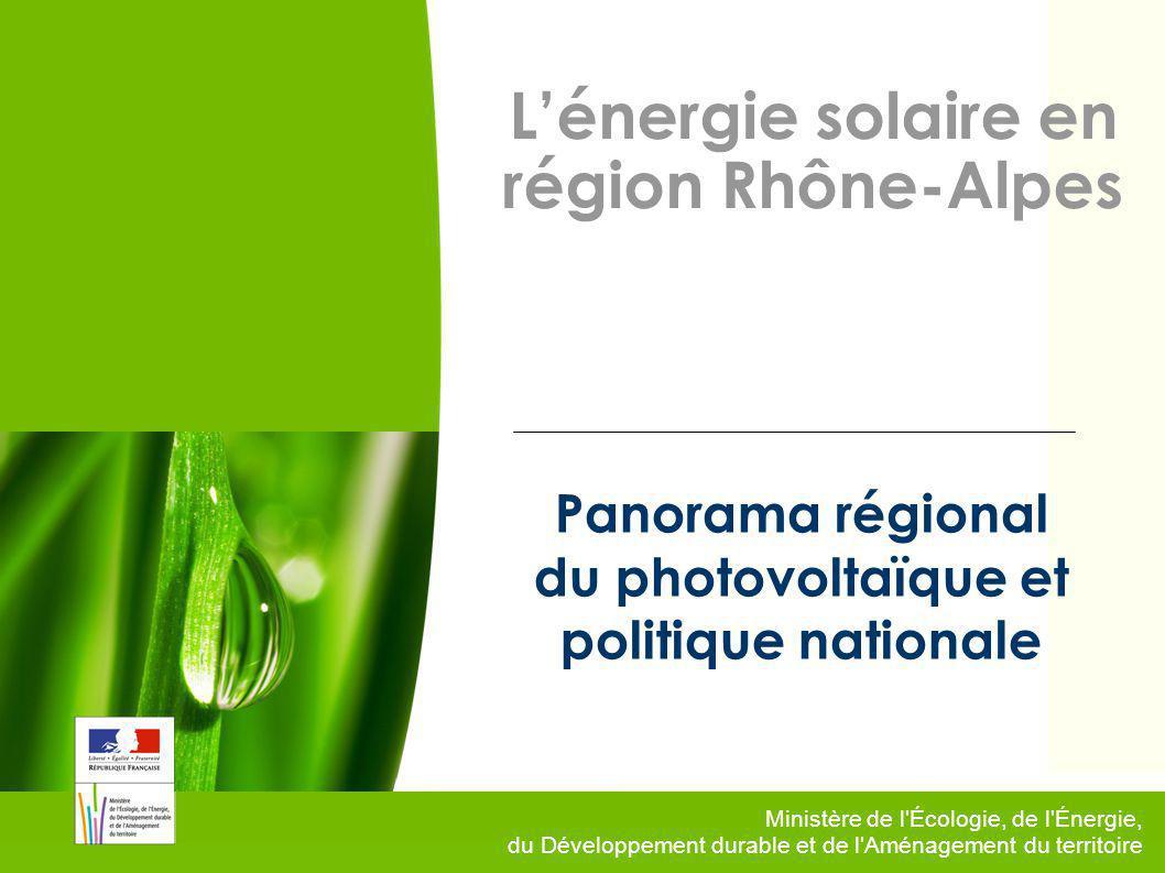2 Vers un nouveau modèle énergétique français Des engagements internationaux volontaires traduit dans la loi programme relatif à la mise en œuvre du Grenelle : 23% de renouvelables dans la consommation énergétique en 2020, 20 % de CO2 en moins en 2020 par rapport à 1990, 20% defficacité énergétique en plus à lhorizon 2020, Division par 4 des émissions CO2 à lhorizon 2050.