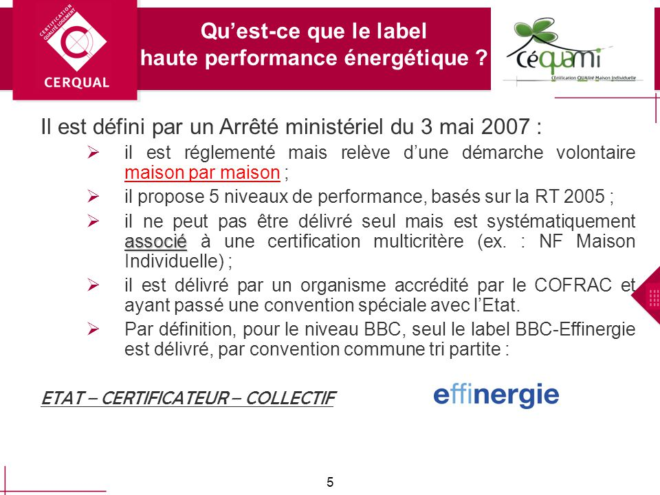La certification : quest ce que cest .