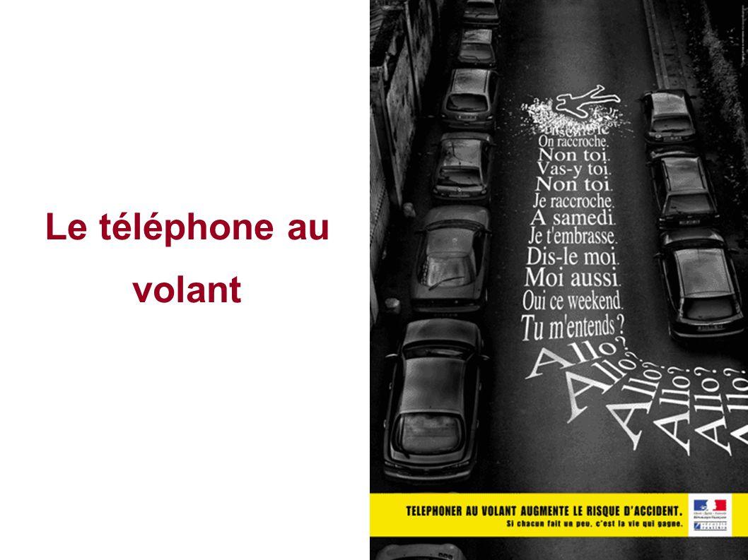 Le téléphone au volant