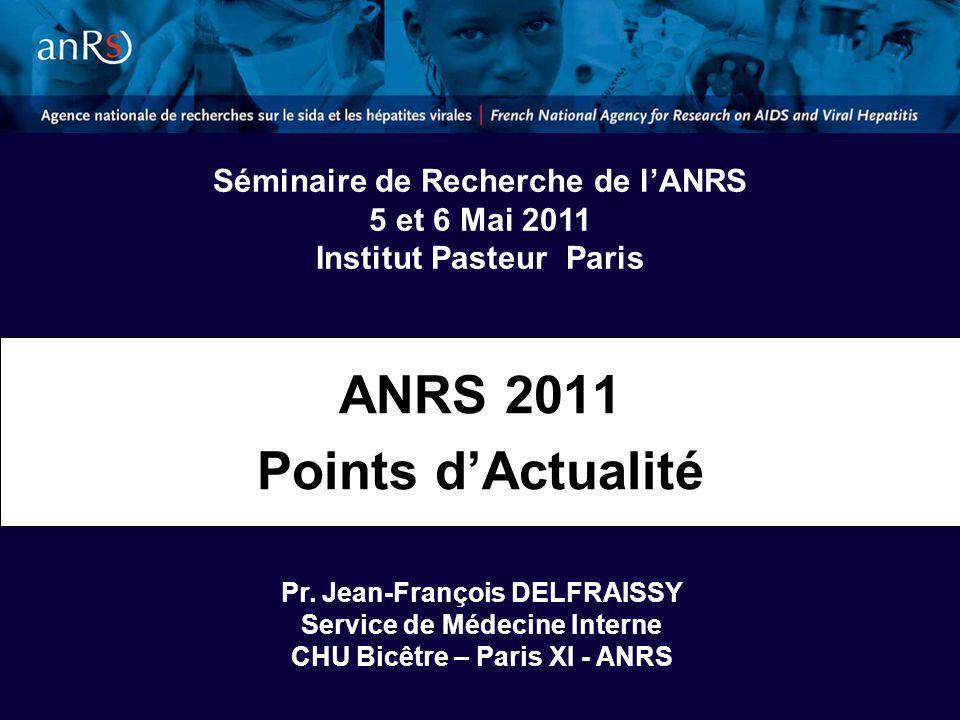ANRS 2011 Points dActualité Pr.