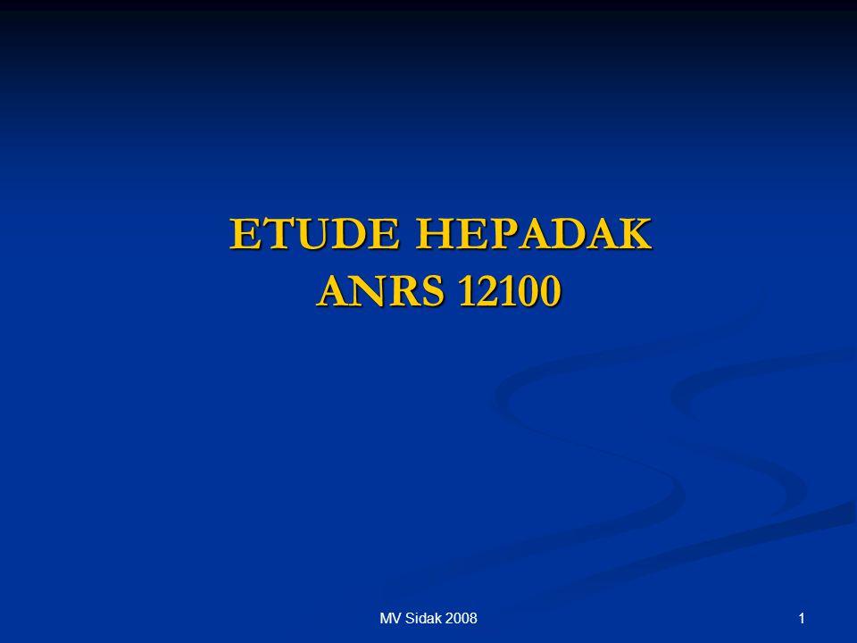 1MV Sidak 2008 ETUDE HEPADAK ANRS 12100