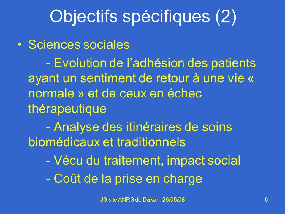 6 Sciences sociales - Evolution de ladhésion des patients ayant un sentiment de retour à une vie « normale » et de ceux en échec thérapeutique - Analy