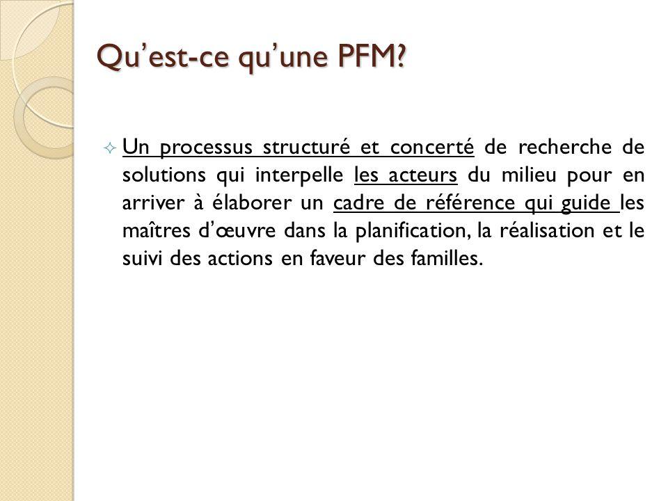 Quest-ce quune PFM.