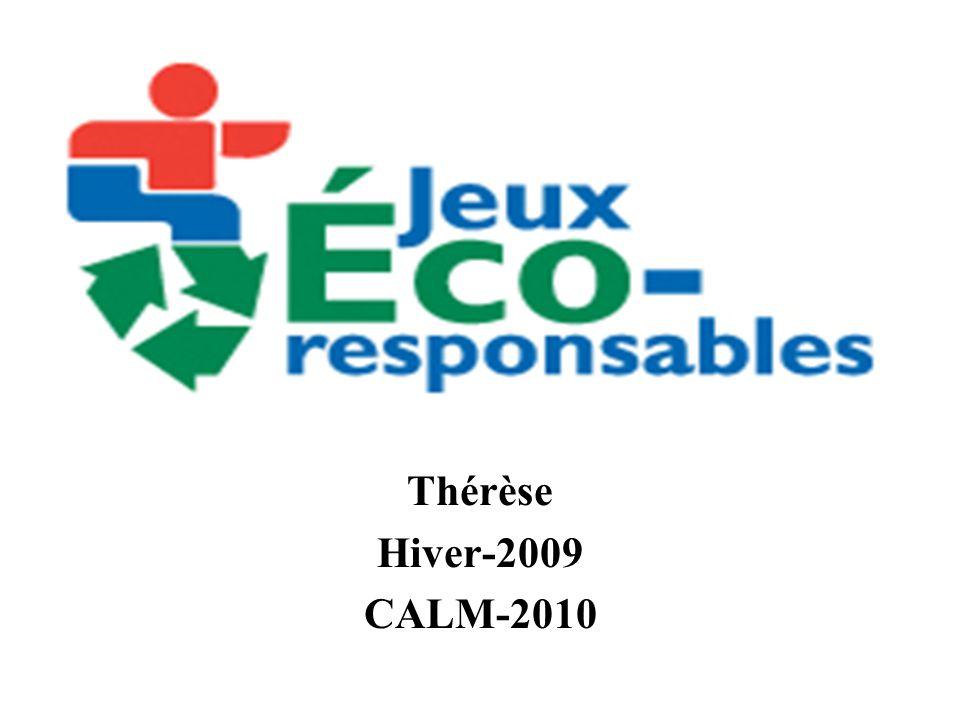 Blainville-Rosemère-Sainte- Thérèse Hiver-2009 CALM-2010