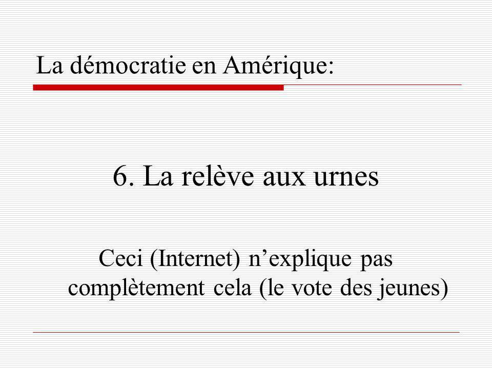 La démocratie en Amérique: 6.