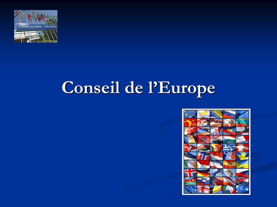 Conseil de lEurope