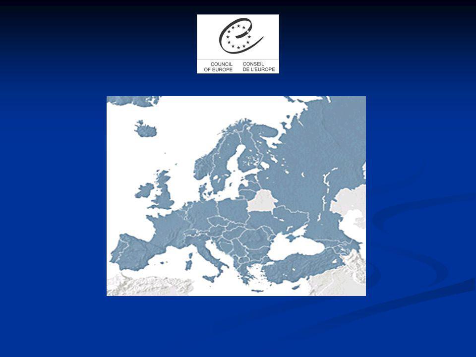 AlbanieAlbanie (13.07.1995) Albanie AllemagneAllemagne (13.7.1950) Andorre (10.11.1994) Andorre Allemagne Andorre ArménieArménie (25.1.2001) Autriche (16.04.1956) Azerbaïdjan (25.1.2001) Belgique (5.5.1949) Autriche Azerbaïdjan Belgique Arménie Autriche Azerbaïdjan Belgique Bosnie-HerzégovineBosnie-Herzégovine (24.04.2002) Bulgarie (7.5.1992) Chypre (24.5.1961) Croatie (6.11.1996) Danemark (5.5.1949) Espagne (24.11.1977) Estonie (14.5.1993) Bulgarie Chypre Croatie Danemark Espagne Estonie Bosnie-Herzégovine Bulgarie Chypre Croatie Danemark Espagne Estonie FinlandeFinlande (5.5.1989) France (5.5.1949) Georgie (27.4.1999) Grèce (9.8.1949) Hongrie (6.11.1990) France Georgie Grèce Hongrie Finlande France Georgie Grèce Hongrie IrlandeIrlande (5.5.1949) Irlande IslandeIslande (7.3.1950) Islande ItalieItalie (5.5.1949) Italie LettonieLettonie (10.2.1995) Lettonie Macédoine Macédoine (9.11.1995) LiechtensteinLiechtenstein (23.11.1978) Lituanie (14.5.1993) Luxembourg (5.5.1949) Lituanie Luxembourg MalteMalte (29.4.1965) Moldova (13.7.1995) Moldova MonacoMonaco (5.10.2004) Norvège (5.5.1949) Pays-Bas (5.5.1949) Pologne (26.11.1991) Portugal (22.9.1976) Norvège Pays-Bas Pologne Portugal République tchèqueRépublique tchèque (30.6.1993) Roumanie (7.10.1993) Roumanie Royaume UniRoyaume Uni (5.5.1949) Fédération de RussieFédération de Russie (28.2.1996) Saint Marin (16.11.1988) Saint Marin Serbie-MonténégroSerbie-Monténégro (3.4.2003) Slovaquie (30.6.1993) Slovénie (14.5.1993) Suède (5.5.1949) Suisse (6.5.1963) Turquie (9.8.1949) Ukraine (9.11.1995) Slovaquie Slovénie Suède Suisse Turquie Ukraine