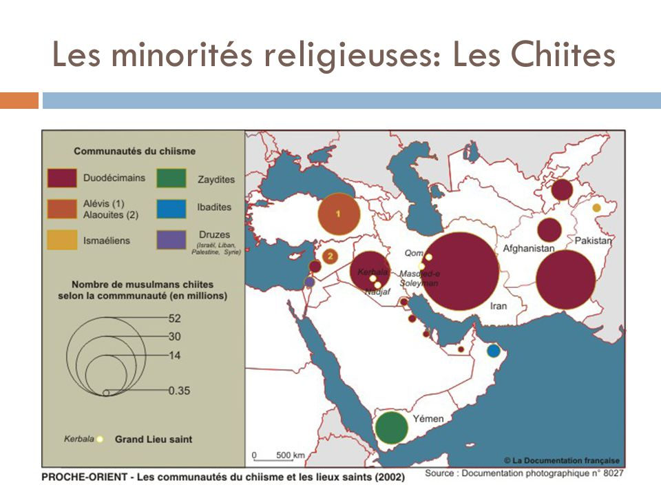 Les minorités religieuses: Les Chiites