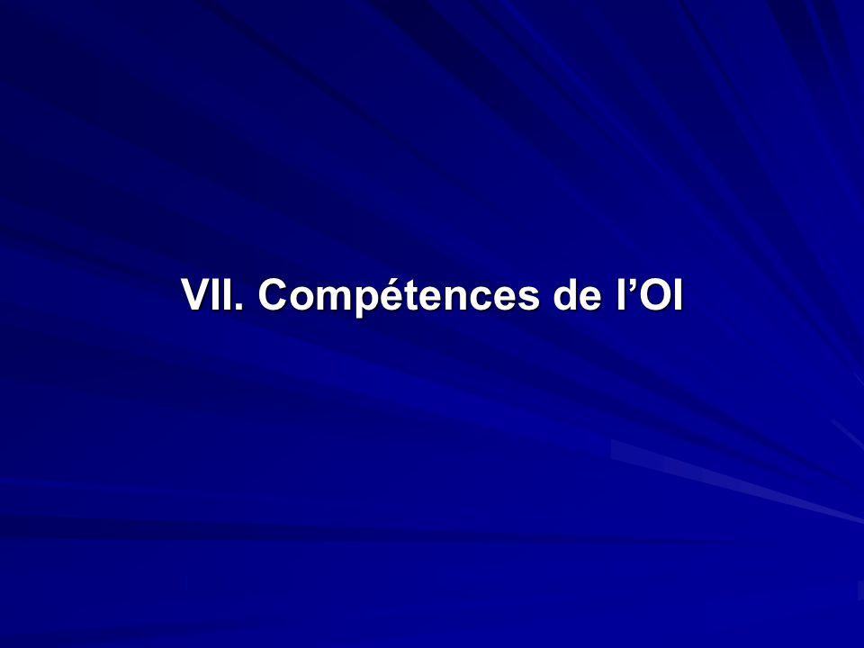 VII. Compétences de lOI