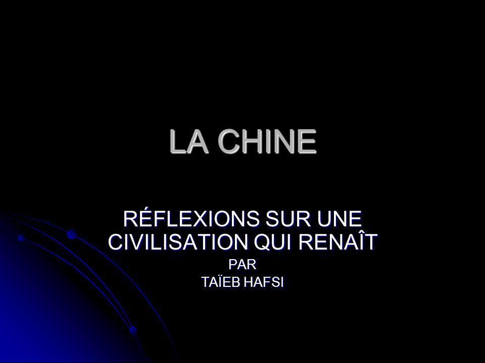 PROGRAMME 1.LES MANIFESTATIONS DE LA PRÉSENCE CHINOISE: UNE INTRODUCTION 1.