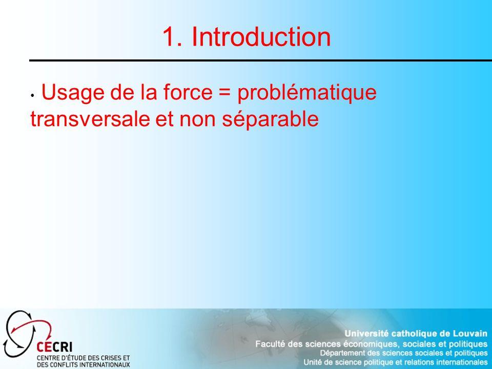 2.Le maintien de la paix traditionnel : une stratégie intégrée (1956-1988) 2.