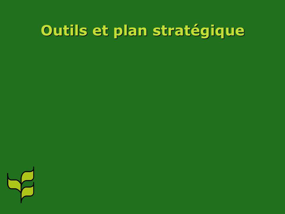 Outils et plan stratégique