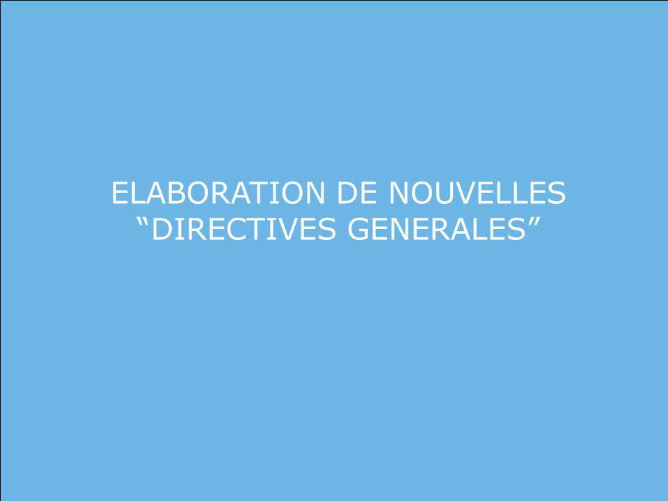United Nations 1. DEFINING DOCTRINE ELABORATION DE NOUVELLES DIRECTIVES GENERALES