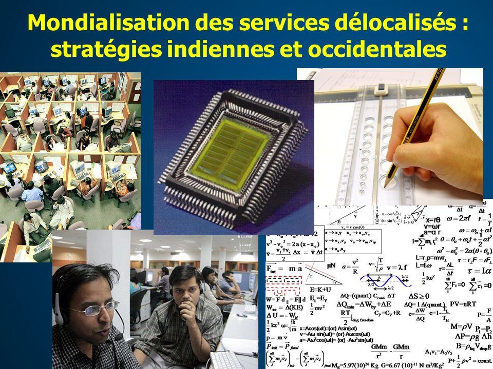 Mondialisation des services délocalisés : stratégies indiennes et occidentales