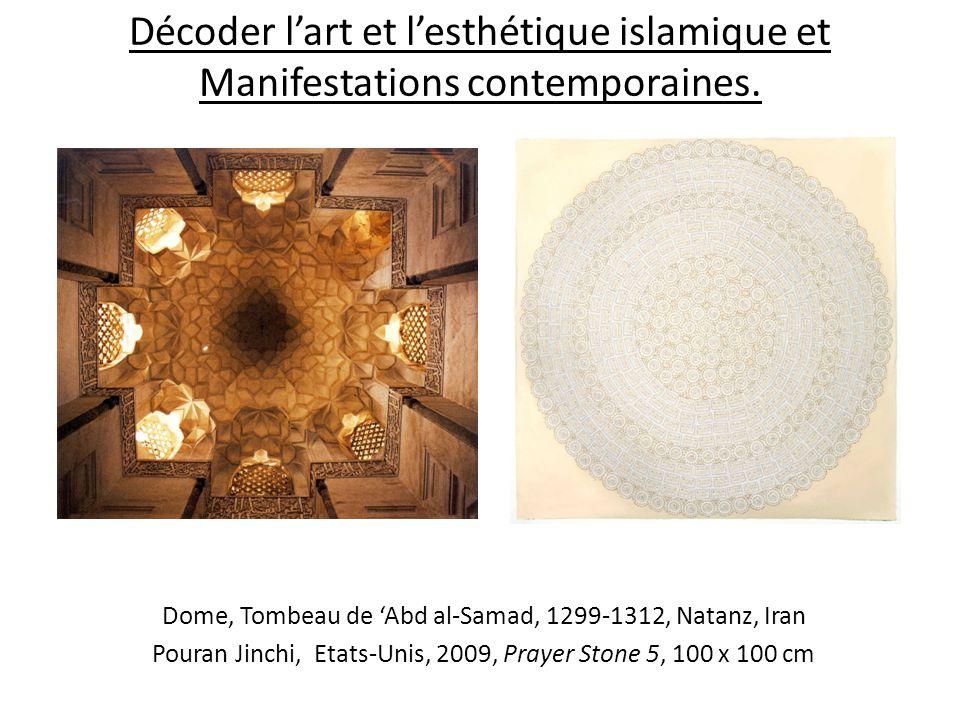 Décoder lart et lesthétique islamique et Manifestations contemporaines. Dome, Tombeau de Abd al-Samad, 1299-1312, Natanz, Iran Pouran Jinchi, Etats-Un