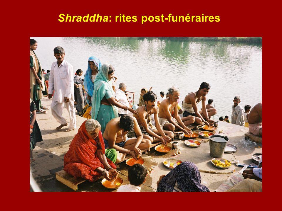 Shraddha: rites post-funéraires