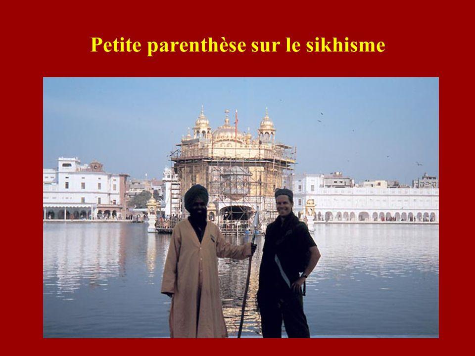 Petite parenthèse sur le sikhisme