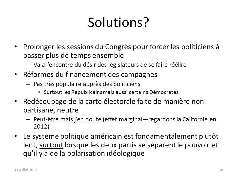 11 juillet 201238 Solutions.