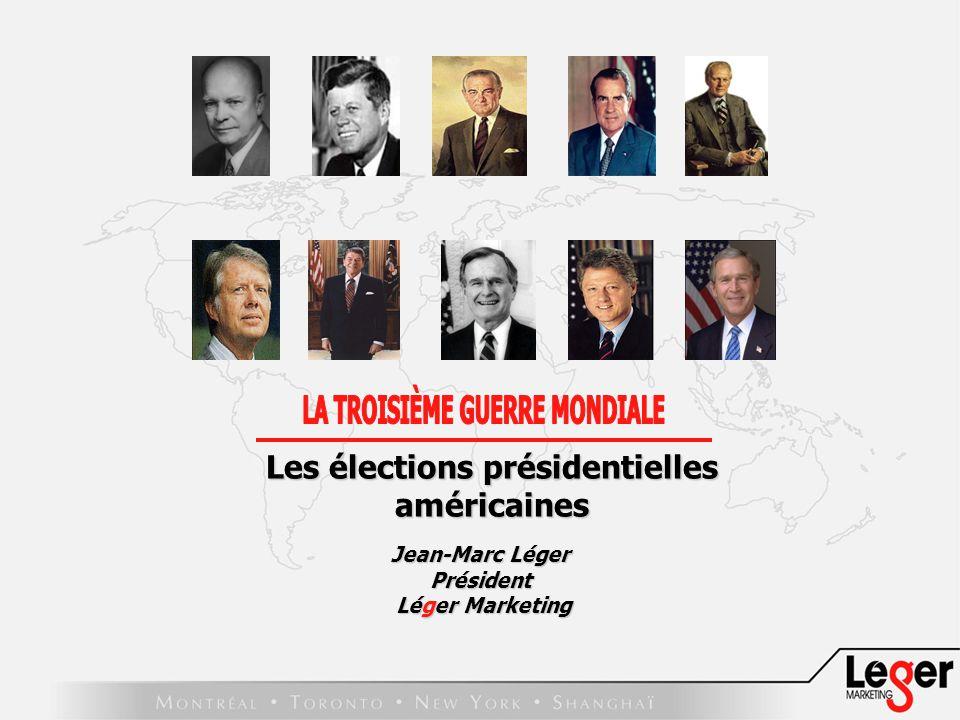 Jean-Marc Léger Président Léger Marketing Léger Marketing Les élections présidentielles américaines