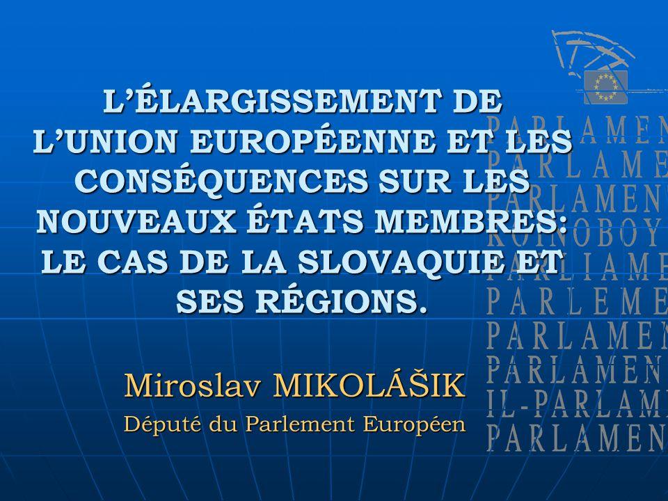 La position de la Slovaquie dans lUE: les Fonds structurels et le Fonds de cohésion- quels sont les objectifs à long terme.