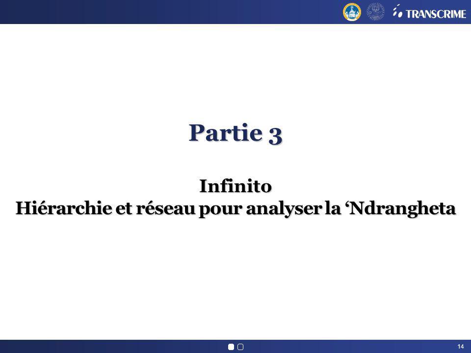14 Partie 3 Infinito Hiérarchie et réseau pour analyser la Ndrangheta