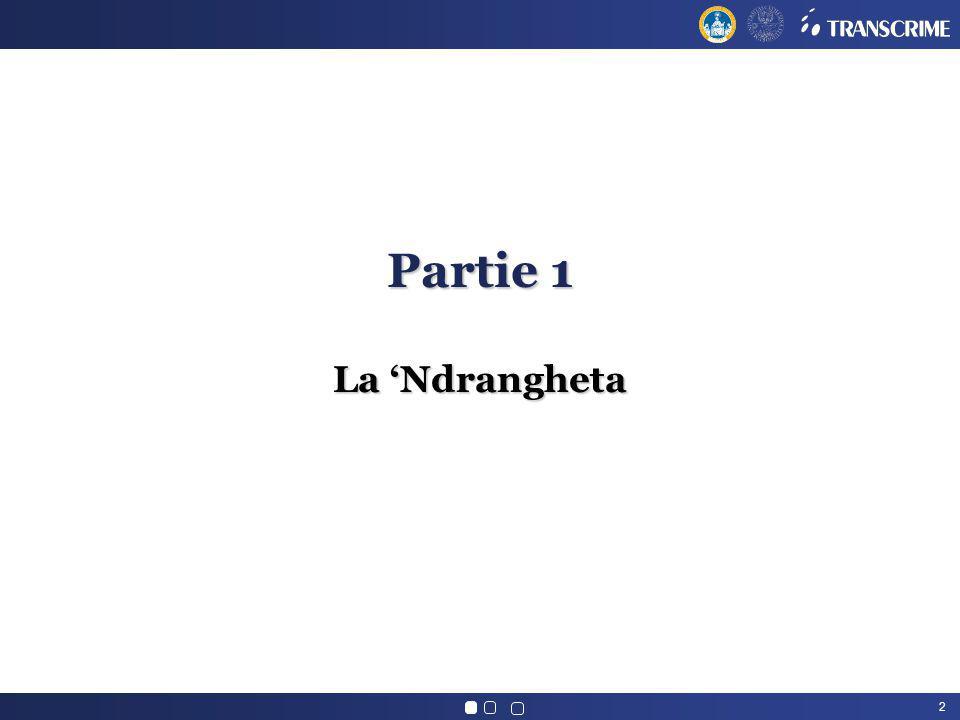 2 Partie 1 La Ndrangheta