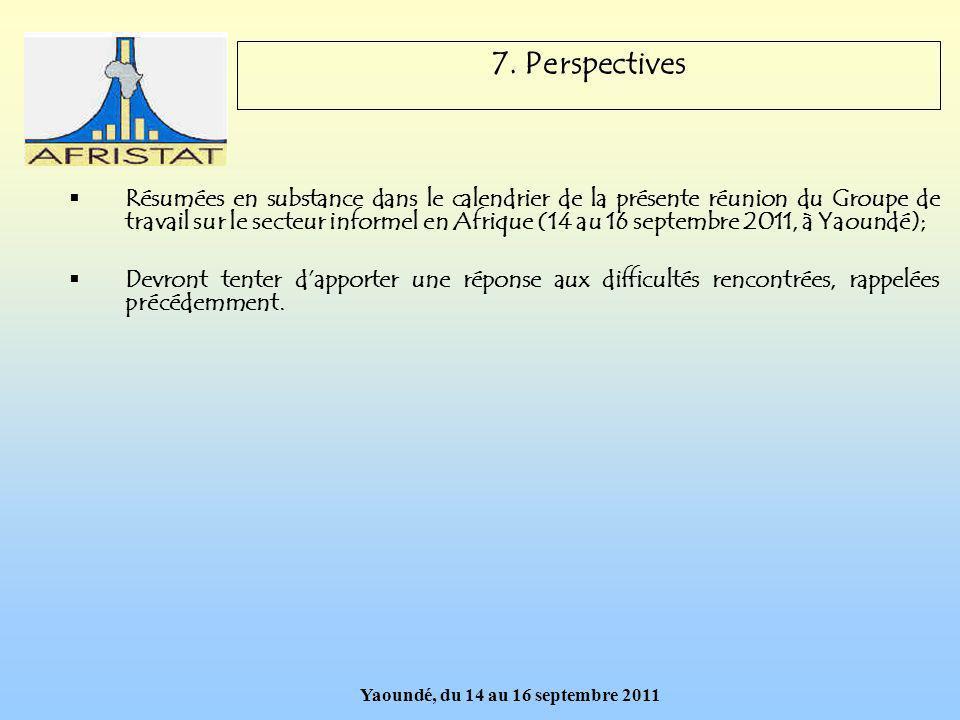 Yaoundé, du 14 au 16 septembre 2011 7.