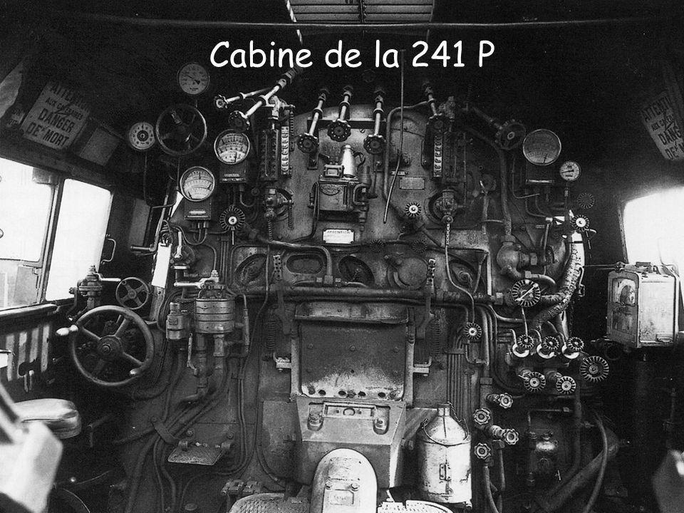 Master Imagerie – Connaissance de lEntreprise Structure de lentreprise Page 30 Cabine de la 241 P