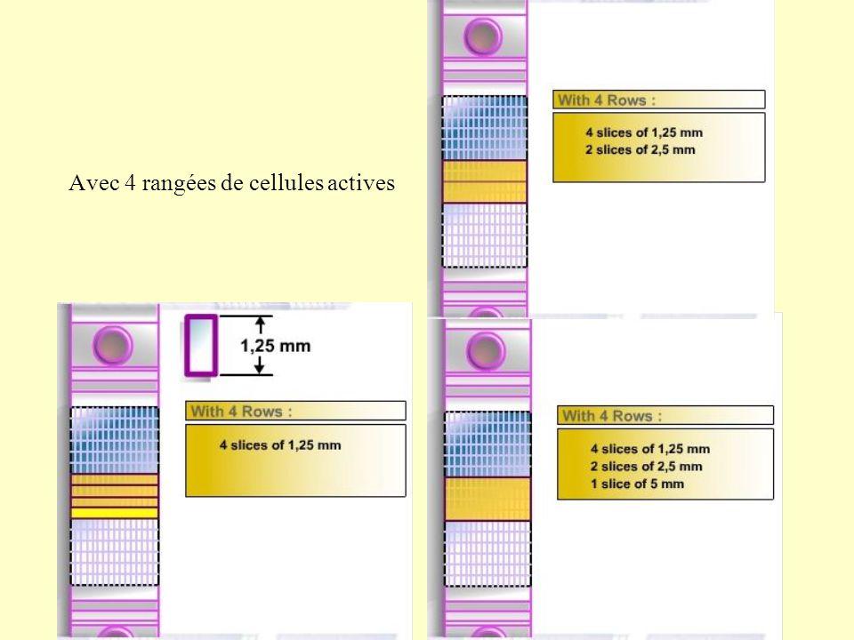 Avec 4 rangées de cellules actives