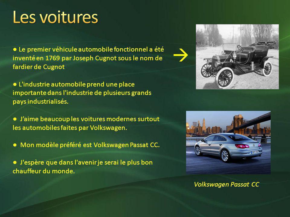 Le premier véhicule automobile fonctionnel a été inventé en 1769 par Joseph Cugnot sous le nom de fardier de Cugnot L industrie automobile prend une place importante dans l industrie de plusieurs grands pays industrialisés.