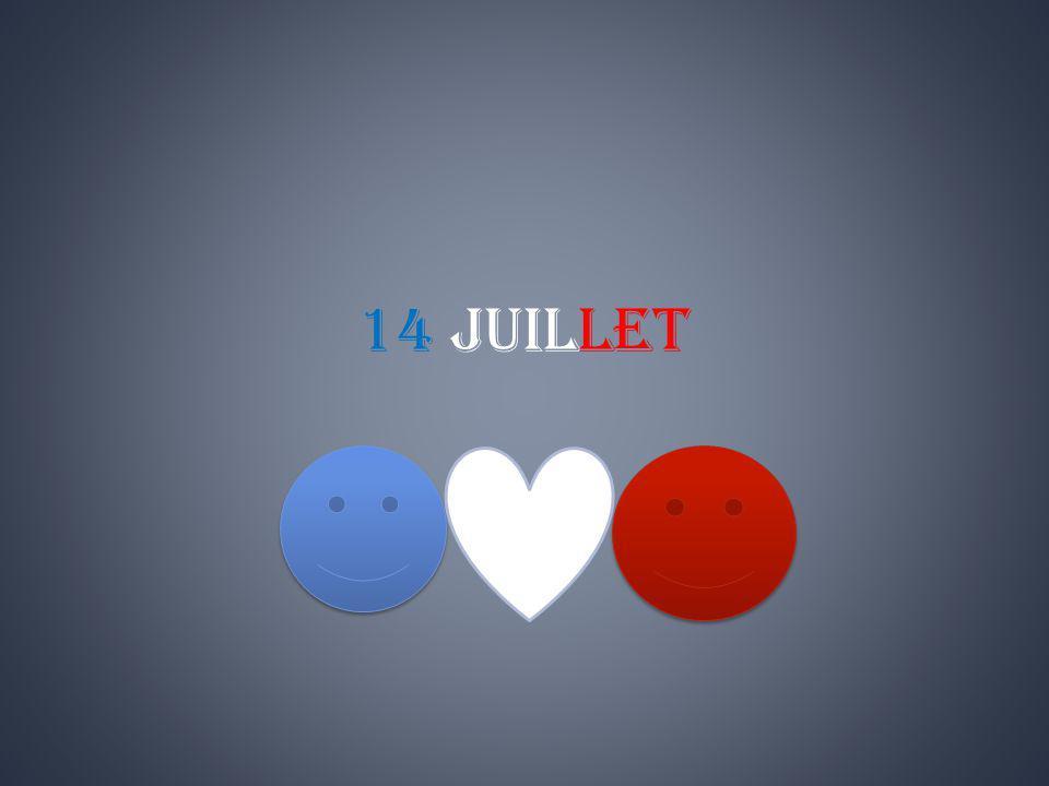 Fête nationale, instituée officiellement en souvenir de la prise de la Bastille en 1789.