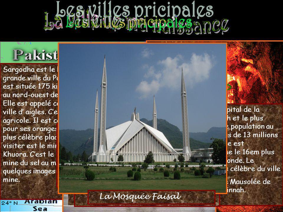 Sargodha est le huitième grande ville du Pakistan. Il est située 175 kilomètres au nord-ouest de Lahore. Elle est appelé comme le ville d aigles. Cest