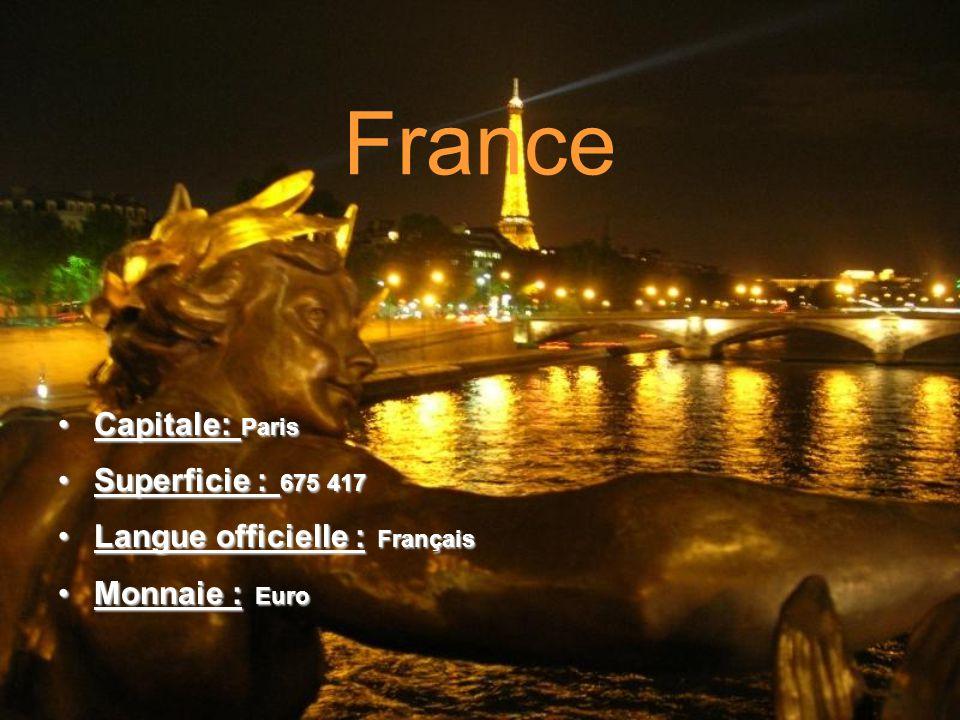 Voici les endroits que jaimerais visiter si jamais jai la chance de pouvoir voyager en France !