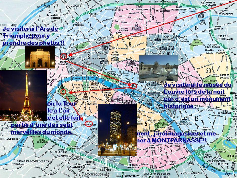 Je visiterai lArc de Triomphe pour y prendre des photos !.