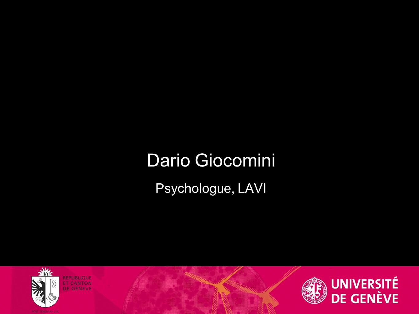 Dario Giocomini Psychologue, LAVI